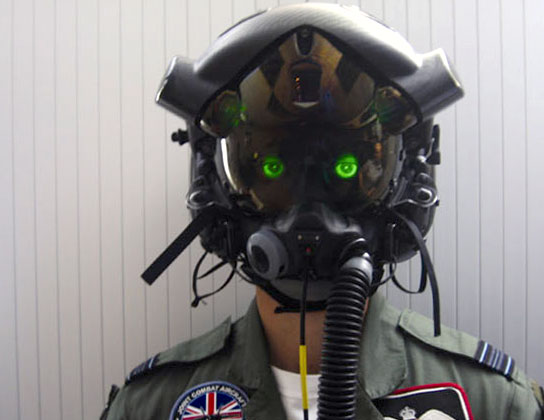 F35 Flight Helmet